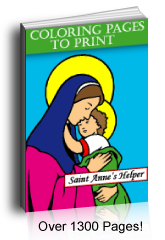 Catholic Catechism Coloring Pages To Print