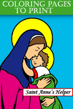 Catholic Coloring Pages To Print