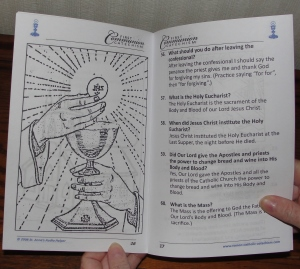 Find Catholic answers for Confession and First Communion at #SaintAnnesHelper #CatholicWorksheets and #CatholicColoringPages.