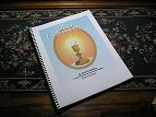 First Communion copybook with spiral binding