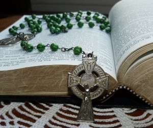 Our Lady asks us to pray the Catholic Rosary daily.