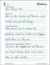 First Communion Copybook