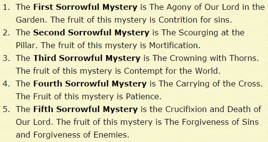 Rosary Audio Download: Sorrowful Mysteries With Fruits of the Rosary