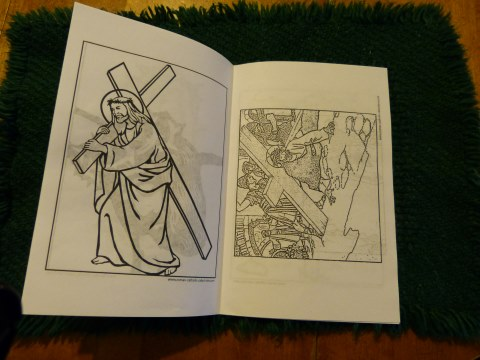 Lent Coloring Booklet - PDF Catholic Printable Stations Of The Cross Pictures