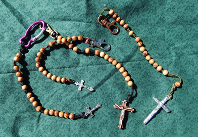 Beautiful Olive Wood Rosaries