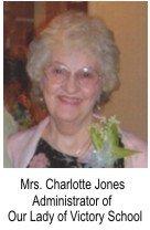Mrs. Charlotte Jones, OLVS, Post Falls, ID