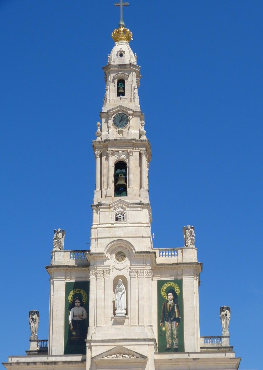 Our Lady of Fatima Church in Fatima, Portugal