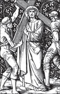Catholic Printable Stations of the Cross Booklet PDF - According to Alphonsus Liguori #SaintAnnesHelper #CatholicHomeschool #CatholicCatechism #CatholicColoringPages