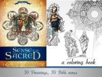 Dominic De Souza: Sense of the Sacred Coloring Book Samples
