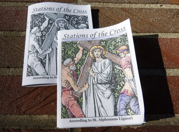 Printable Stations Of The Cross Booklet